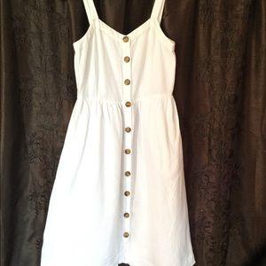 The Loft Button Down  Linen Dress